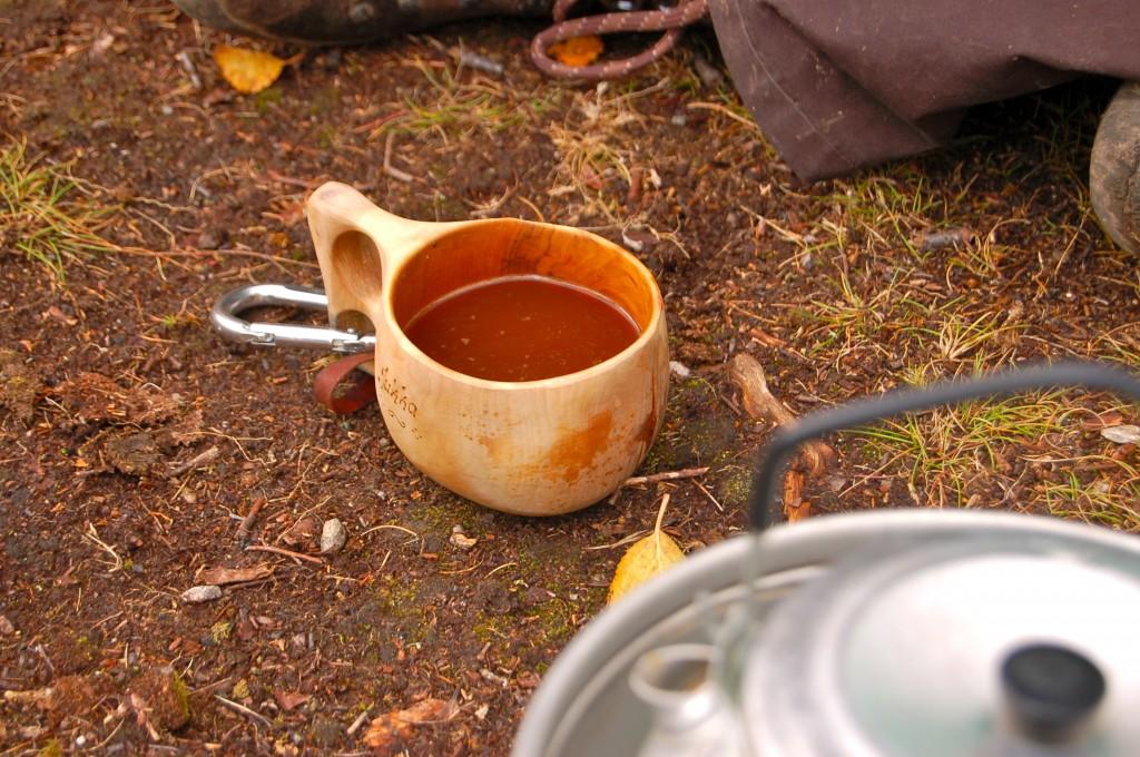 Coffee in Kuksa
